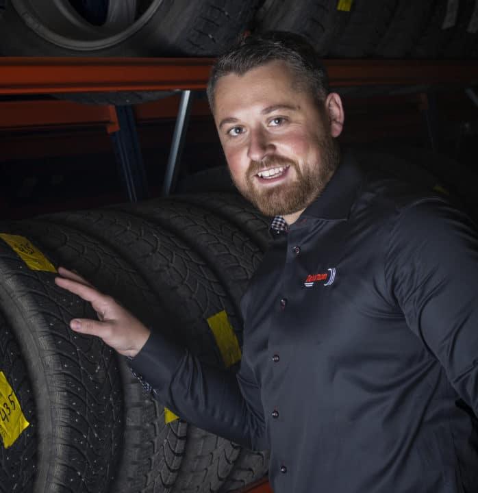 Damir Pasic - avdelingsleder DekkTeam Lillehammer