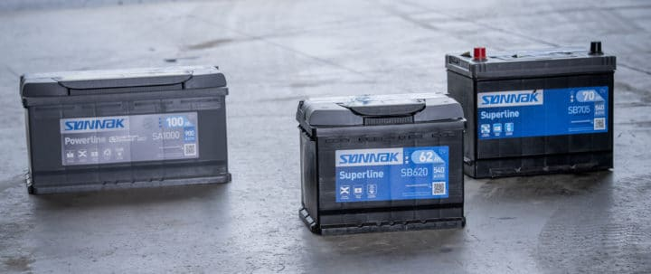 Batterier fra Exide Sønnak I DekkTeam
