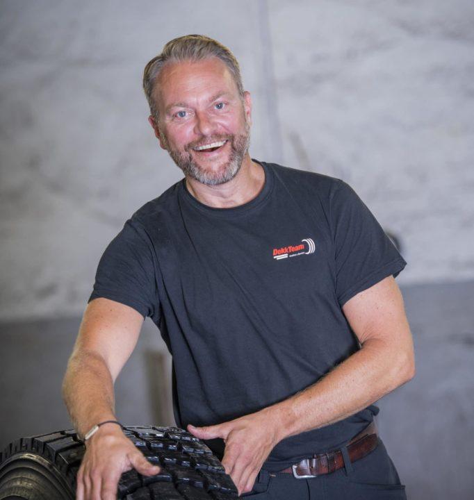 Carl Øivind Bjørnstad I DekkTeam Tønsberg
